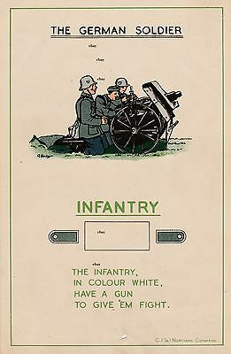 New A4 Print Ww2 The German Soldier British Army Recce Poster Infantry