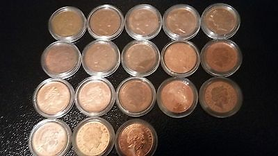 21 x 2 pence coins