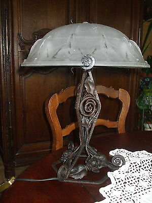 lampe de table art/deco muller frere
