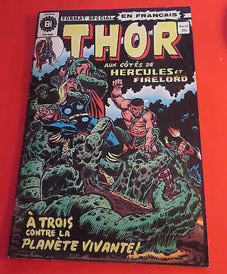 1974 Thor & Hercules #37 Format Special Heritage French Edition Free Shipping