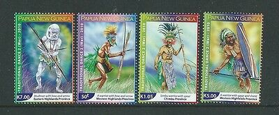 Papua New Guinea 2010 Traditional War Dances  Unmounted Mint,mnh