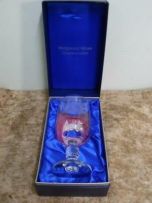 Wedgwood Glass The Christmas Goblet 1977 St Paul's Cathedral Boxed with leaflet