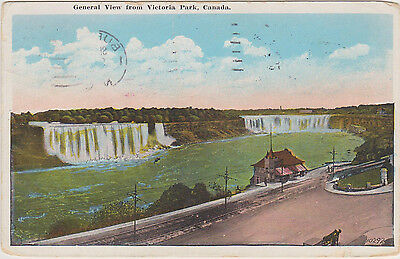 AK Kanada, General View from  Victoria Park 1927