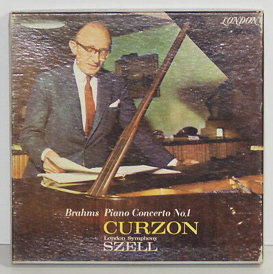 Brahms / Szell / Curzon / Piano / Reel To Reel Tape / 4 Track / London Lcl 80126