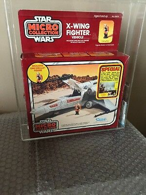 Vintage Kenner 1982 Micro Collection X-Wing Fighter Special Offer AFA Q-80 WOW
