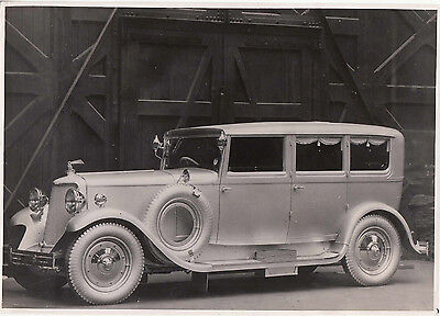 Armstrong Siddeley Four Door Limousine Photograph.