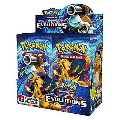 Pokemon Evolutions Xy12 Evolutions Booster Display 36 Packs 360 Cards New Sealed