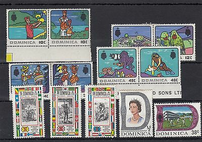 Dominica.13 -- 1969 Mounted Mint Stamps On Stockcard