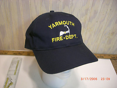 Yarmouth Fire Dept Hat, Ball Cap, Cape Cod
