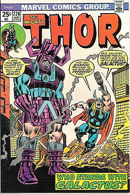 The Mighty Thor Comic Book #226 Firelord, Marvel Comics 1974 VERY FINE/NEAR MINT