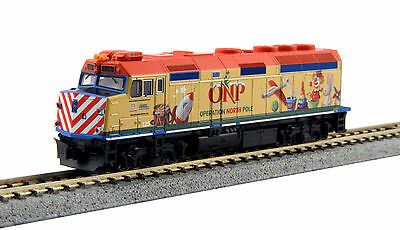 NIB N Kato #106-2015 Operation North Pole Metra Train Set