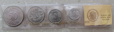 Iceland Coin set 1978, uncirculated.