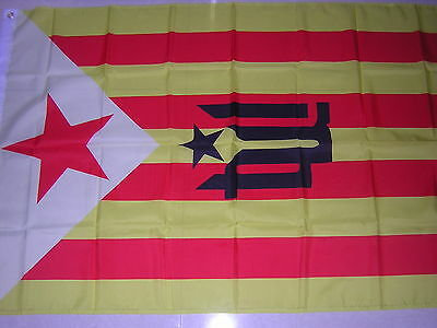 Terra Lliure Free Land Catalonia Catalan independentism Flag Ensign Spain 3X5ft