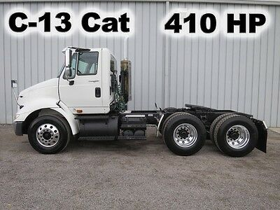 8600 C13 Cat 410-Hp Daycab Semi Tandem Axle Haul Delivery Truck 179-K Low Miles