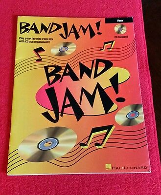 HAL LEONARD band jam flute book & cd Music