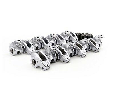 17005-16 SB Chevy Comp Cams High Energy Die Cast Auminum Roller Rockers 1.6 7/16