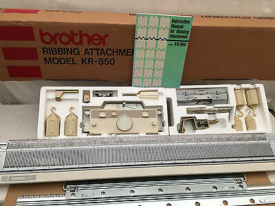 Brother Kr-850 Ribber Attachment