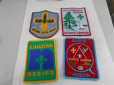 (Pv9-R) Fifteen  Ontario Misc Badges   Unused  Canadian Scout Badges