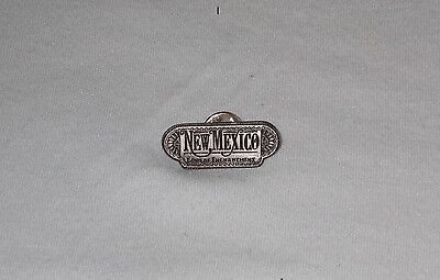Quality State of New Mexico Land of Enchantment metal hat tie lapel pin nice
