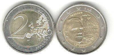 Luxembourg Commemorative Coin 2008 Castle Mountain