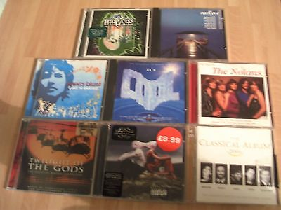 Job Lot Of  Cd Albums...   -   To Clear !!!!