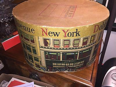 Antique New York Dobbs Fifth Avenue Hat Box