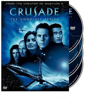 Crusade: The Complete Series [DVD Box Set, Region 1, 4-Disc, Babylon 5] NEW