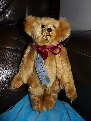 Artist Handmade Collectors Sirius Bear Limited Edition 2/2 Mohair  Ginger