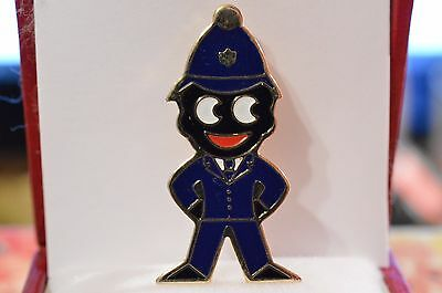Vintage Robertson's Golden Shred Enamel Lapel Badge Policeman