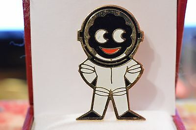 Vintage Robertson's Golden Shred Enamel Lapel Badge Astronaut