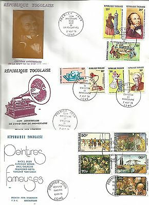 Selection of FDC's from TOGO