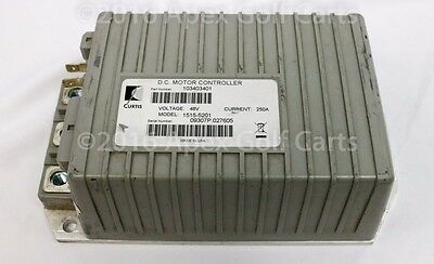 Curtis/Club Car Controller 48V 250A Re-manufactured Motor Controller 1515-5201