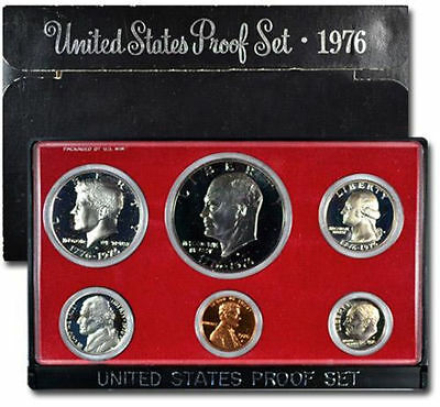 1976-S United States MINT US Clad 6 COIN Proof Set Original Mint Packaging *****