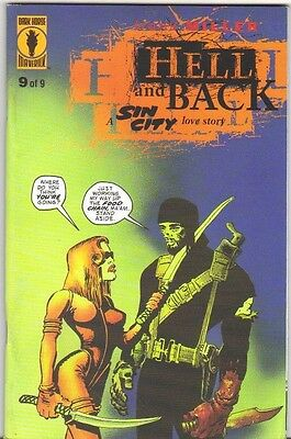 Sin City Hell and Back #9 FN/VFN (1999) Dark Horse Comics