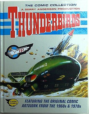 Thunderbirds by Gerry Anderson - Featuring Original Artwork - 1960's -70's