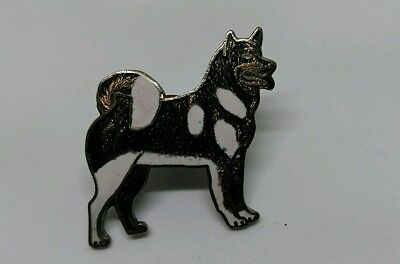 Vintage Grey Wolf Hat - Lapel Pin