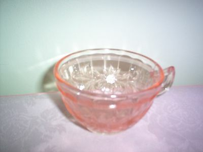 Jeannette Sunflower Pink Cup -  1 MINT - HARD TO FIND