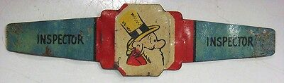 """""""INSPECTOR"""" ring - Post Toastie's Corn Flakes, © 1949 King Features Syn."""