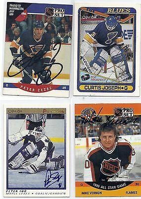 1991 OPC Premier #49 Peter Ing Toronto Maple LEafs Signed Autographed Card Rook