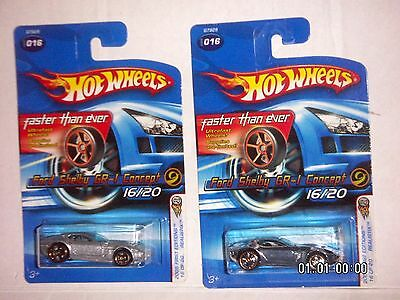 HOT WHEELS 2005 FIRST EDITIONS Ford Shelby GR-1 Concept REALISTIX 16/20 FTE VARI