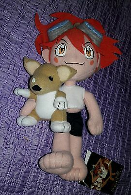 *NEW* Cowboy Bebop: Ed with Ein 8'' Plush by GE Animation