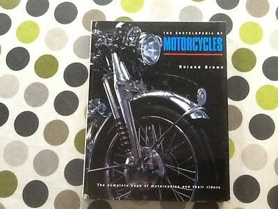 Encyclopaedia of Motorcycles book. Large hardback. By Roland Brown