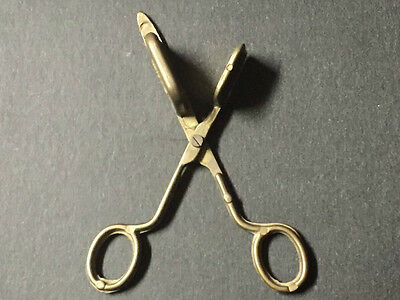 Vintage Brass Scissors Type Candle Wick Trimmer Snuffer