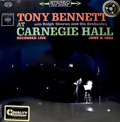 "Tony Bennett -  Analogue Productions - App-823 - ""live At Carnegie Hall"" 2Lp"