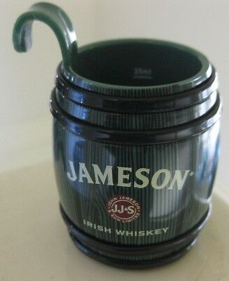 JAMESONS 25ml HANGING SHOT GLASS  - BRAND NEW - SITS ON SIDE OF PINT GLASS