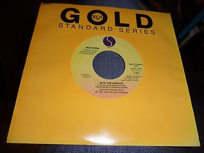 Madonna.into The Groove/dress You Up.gold Series 7'' Vinyl Mint