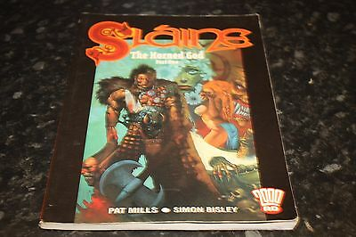 paperback  2000ad graphic novel slaine  the horned god volume 1 simon bisley