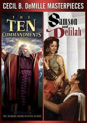 The Ten Commandments/samson And Delilah New Dvd