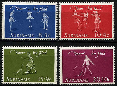 Suriname 1964 SG#538-541 Child Welfare MNH Set #D34390