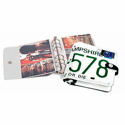 Little Earth Road License Plate O' Photo Case New Hampshire